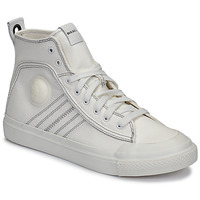 Shoes Men Hi top trainers Diesel S-ASTICO MID LACE White