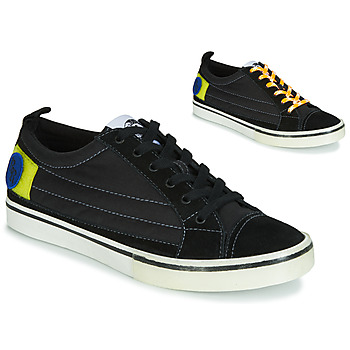 Shoes Men Low top trainers Diesel D-VELOWS LOW PATCH Black