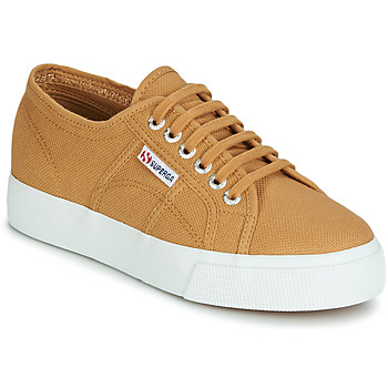 Shoes Women Low top trainers Superga 2730 COTU Beige