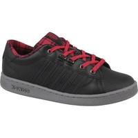 Shoes Women Low top trainers K-Swiss Kswiss Hoke Plaid Black