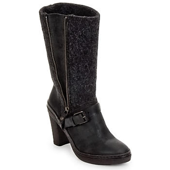 Shoes Women High boots Buttero MERENS Black / Grey