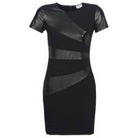 Clothing Women Short Dresses Moony Mood POULOU Black