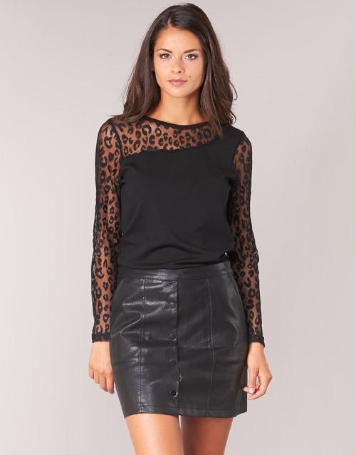Clothing Women Tops / Blouses Moony Mood JOULETTE Black