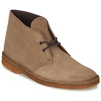 Shoes Men Mid boots Clarks DESERT BOOT Wolf