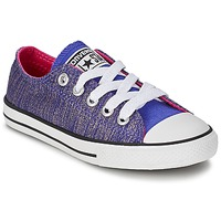 Shoes Girl Low top trainers Converse ALL STAR EAST COASTER Periwinkle
