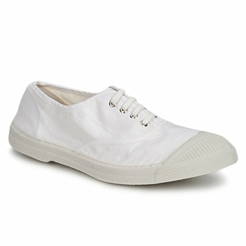 Shoes Women Low top trainers Bensimon TENNIS LACET White