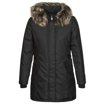 Clothing Women Parkas Only ONLKATY Black