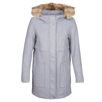Clothing Women Coats Only ONLNOAH Grey