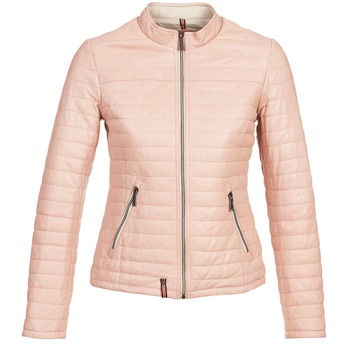 Clothing Women Leather jackets / Imitation leather Oakwood FUNKY Pink