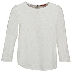 Clothing Women Long sleeved tee-shirts Esprit VASTAN White