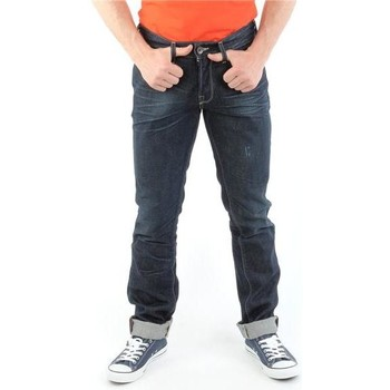 Clothing Men slim jeans Guess Brit Rocker M14072D0HN0 CODU granatowy