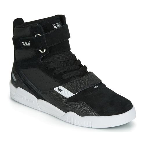Shoes Men Hi top trainers Supra BREAKER Black