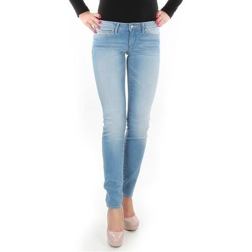 Clothing Women Skinny jeans Wrangler Caitlin Blue Baloo W24CH145X blue