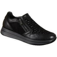 Shoes Women Low top trainers Igi&co 21445 Black