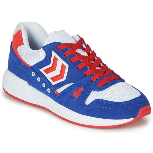 Shoes Low top trainers Hummel LEGEND MARATHONA Blue / Red / White