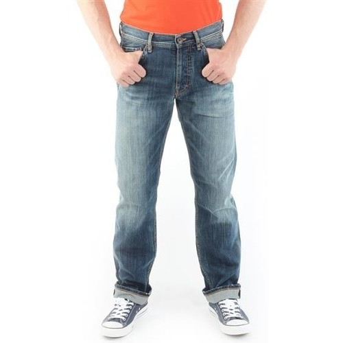 Clothing Men straight jeans Guess Ventura M21078D4G01 MARK granatowy