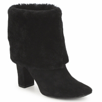 Shoes Women Ankle boots Rockport HELENA CUFFED BOOTIE Black
