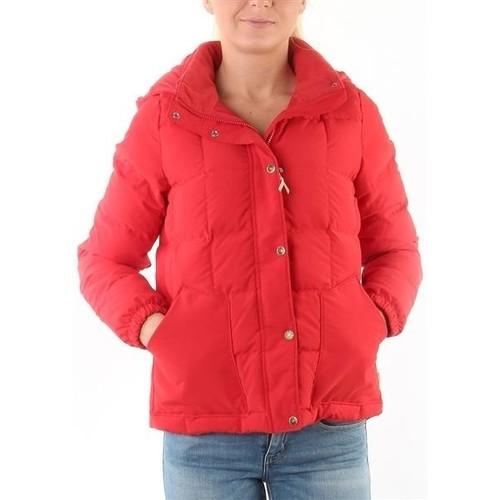 Clothing Women Duffel coats Levi's Heritage Down Puffer 18969-0000 red