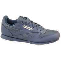 Shoes Children Low top trainers Reebok Sport Classic Leather Deep Grey