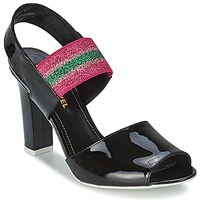Shoes Women Sandals Sonia Rykiel 683902 Black / Pink