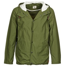 Clothing Men Jackets Lee LIGHTWEIGHT Kaki