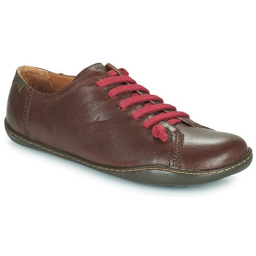 Shoes Women Derby Shoes Camper PEU CAMI Brown