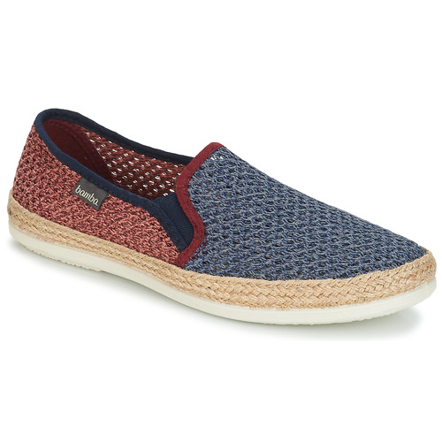 Shoes Men Espadrilles Bamba By Victoria ANDRE ELASTICOS REJILLA BICO Blue / Red