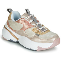 Shoes Women Low top trainers Victoria AIRE METALICO NACAR Beige