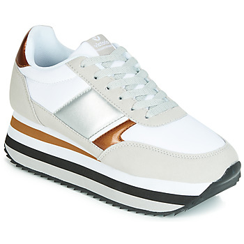 Shoes Women Low top trainers Victoria COMETA DOBLE NYLON COMBINA White