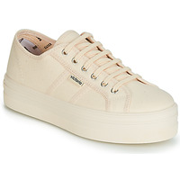 Shoes Women Low top trainers Victoria BARCELONA LONA MONOCROMO Beige