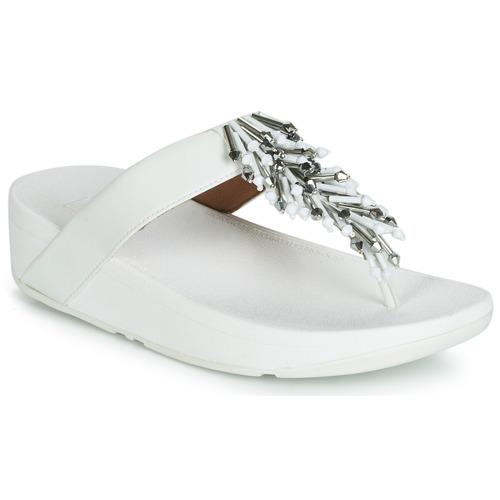 Shoes Women Flip flops FitFlop JIVE TREASURE White