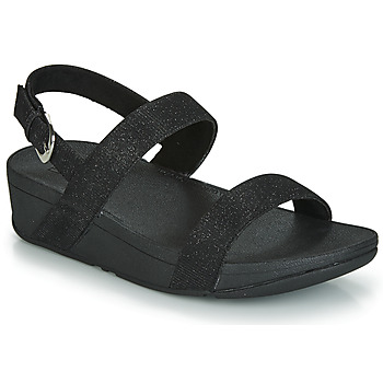 Shoes Women Mules FitFlop LOTTIE GLITZY BACKSTRAP SANDAL Black