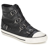 Shoes Women Hi top trainers Ash VIRGIN Black