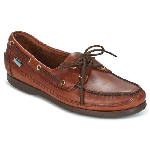 Shoes Men Boat shoes Sebago SCHOONER Brown