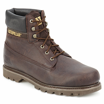 Shoes Men Mid boots Caterpillar COLORADO Chocolate