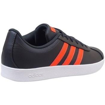Shoes Children Low top trainers adidas Originals VL Court 20 K Black