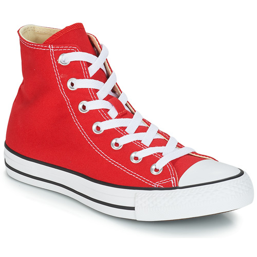 3bfee5ff00ebc Converse ALL STAR CORE HI Red - Free delivery with Spartoo UK ...