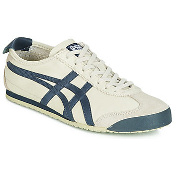 Shoes Men Low top trainers Onitsuka Tiger MEXICO 66 LEATHER Beige / Blue