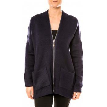Clothing Women Tunics Tcqb Gilet Lely Wood L586 Bleu Blue
