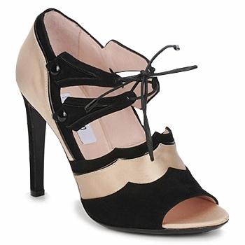 Shoes Women Sandals Moschino MA1601 100-raso-nude-cane