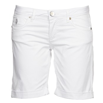 Clothing Women Shorts / Bermudas U.S Polo Assn. MELISSA White
