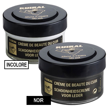 Shoe accessories Shoepolish Kuiral LOT 2 POMMADIERS 50 ML Noir / Incolore