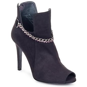 Shoes Women Ankle boots Magrit DIAMOND LOW Black