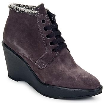 Shoes Women Shoe boots Parallèle LAHO Prune
