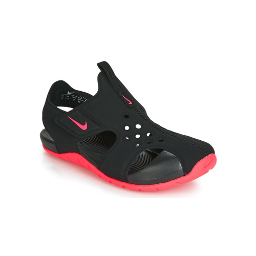 20d9dc9f5591 Nike SUNRAY PROTECT 2 PS Black   Pink - Free delivery with Spartoo ...
