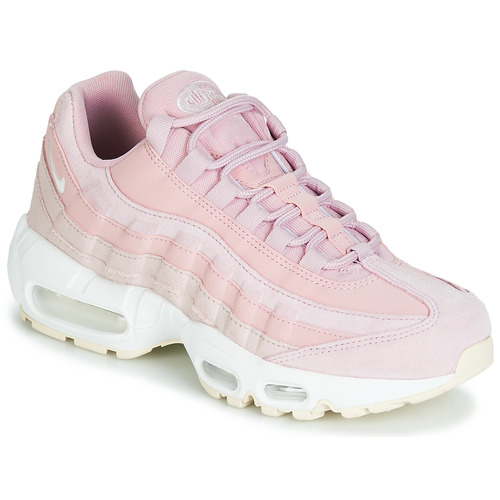 Graceful Nike Air Max 95 Trainers In Pink Pink Womens