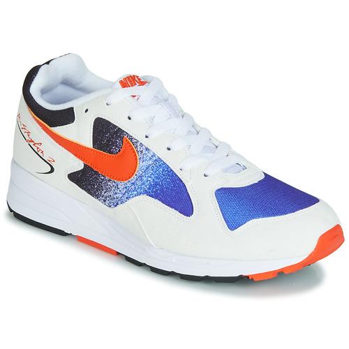 Shoes Men Low top trainers Nike AIR SKYLON II White / Blue / Orange