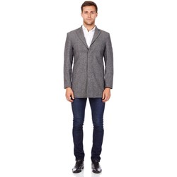 Clothing Men Coats De La Creme Cashmere Wool Winter Jacket Black